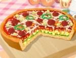 تزيين البيتزا