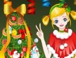 تلبيس بنت في عيد الميلاد