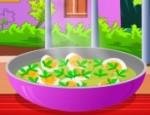 طبخ البيض بالكاري