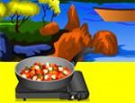 طبخ الدجاج الحلو والمر