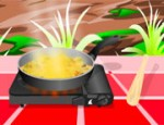 طبخ الدجاج بجوز الهند