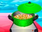 طبخ الحمص بالكاري