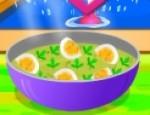 طبخ البيض المسلوق