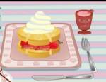 طبخ كعكة الفراولة
