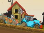 شاحنة توصيل محاصيل المزرعة