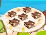 باربي طبخ حلوى الشوكولاته