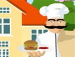 طبخ الهمبرجر