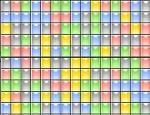 المربعات الملونة الصغيرة