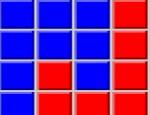 اربع مربعات