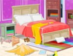 ترتيب فوضى غرفة النوم