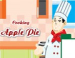 طبخ فطيرة التفاح
