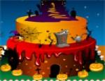 تزيين الكعكه المخيفة