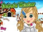 تلبيس دورا ملابس الشتاء
