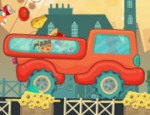 شاحنة توصيل البيتزا