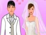 تلبيس عروسة وعريس