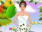 تلبيس واكسسوارات العروسة
