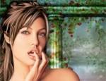 مكياج الممثلة انجلينا جولي
