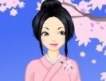 تلبيس فتاة ازياء يابانية