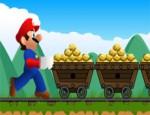 ماريو عامل منجم الذهب
